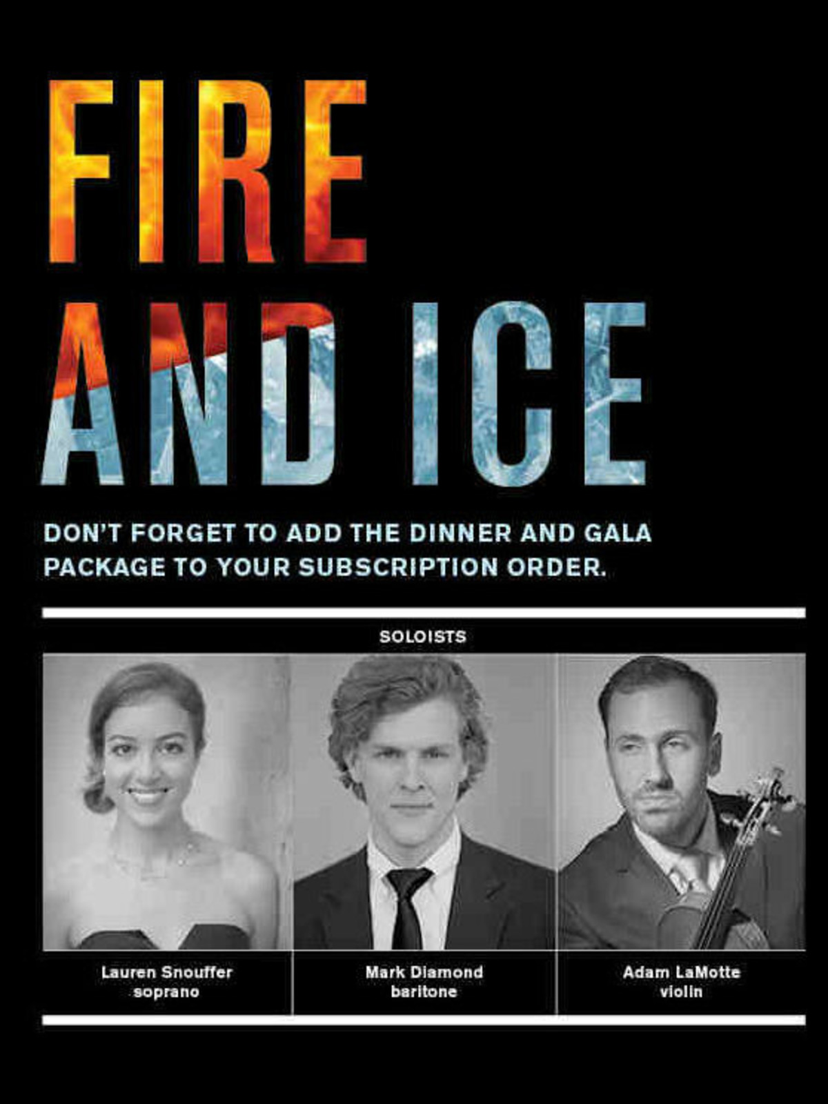 Ars Lyrica Houston Fire and Ice: NYE Concert & Gala