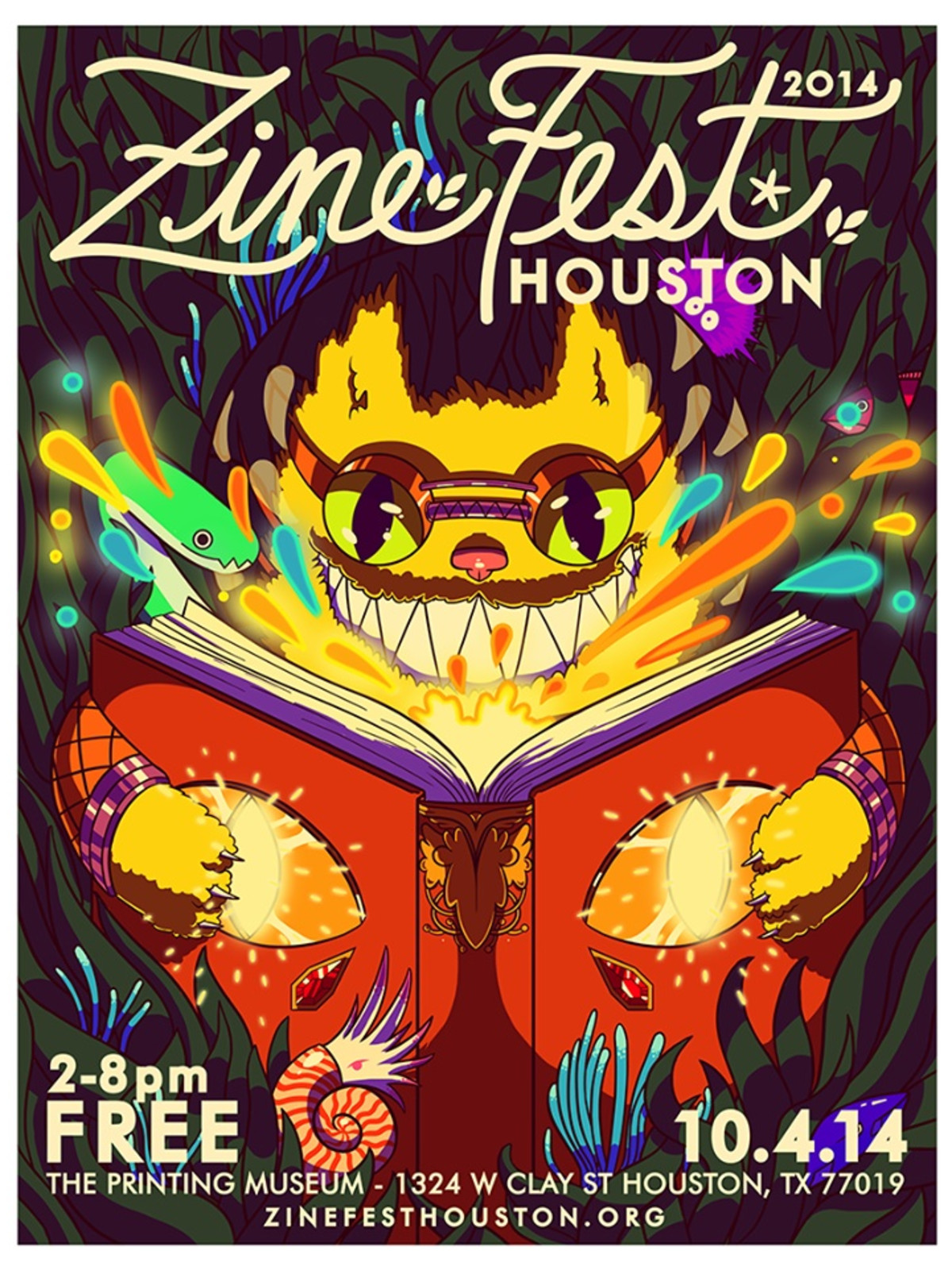 Zine Fest Houston 2014