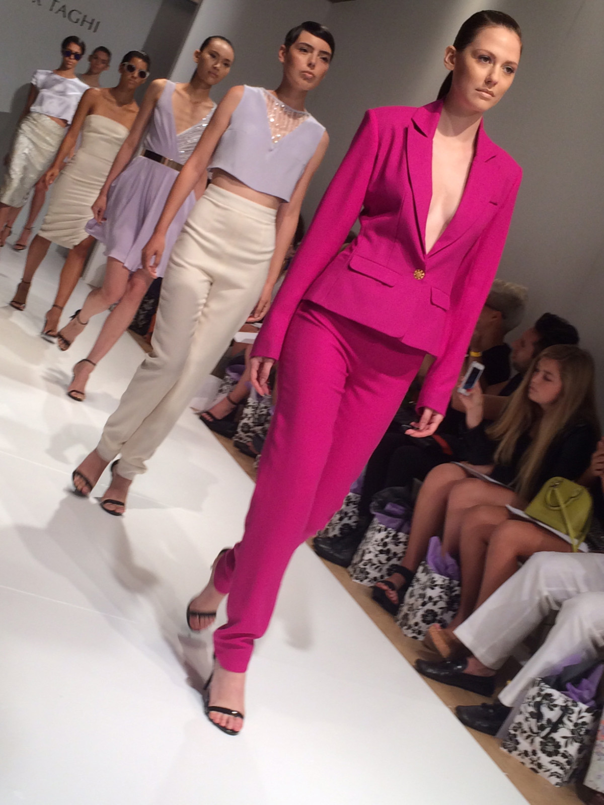 Amir Taghi runway show in New York Sept 2014