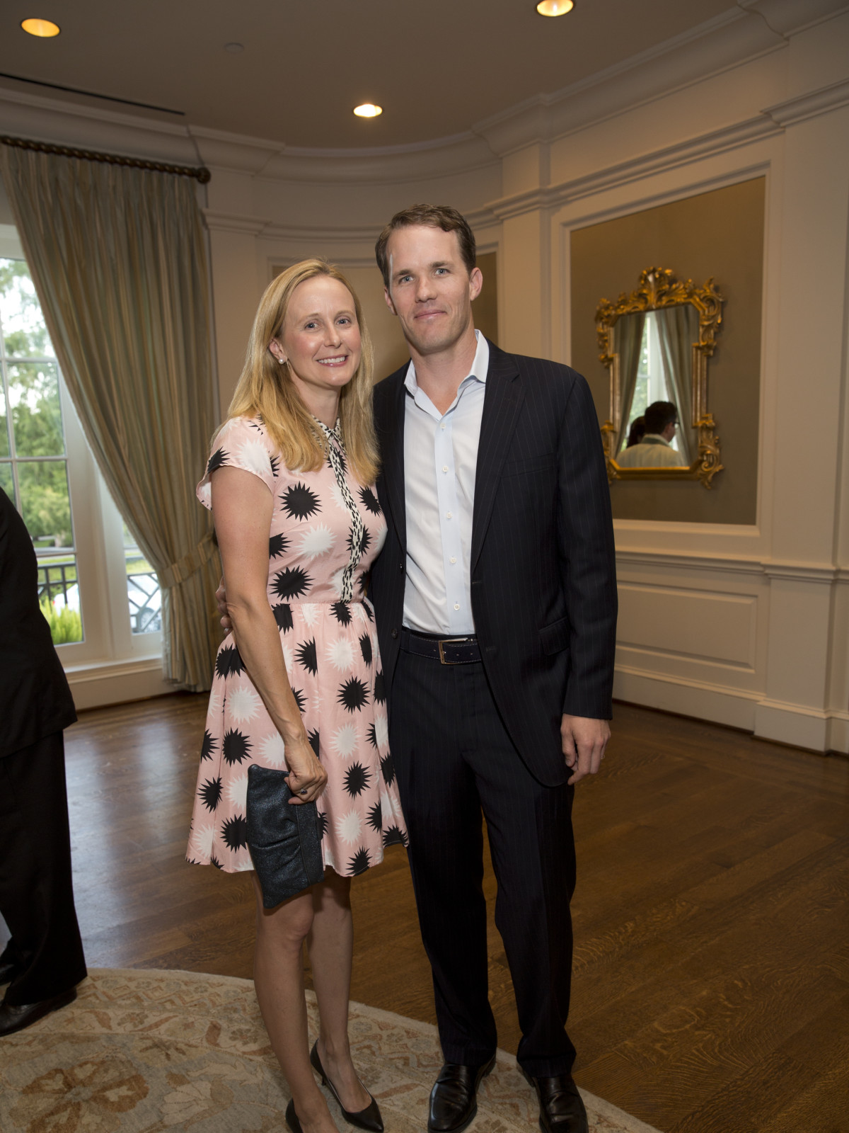 Paul Atwood, Jenna Atwood at Chinquapin Flashback 75 gala
