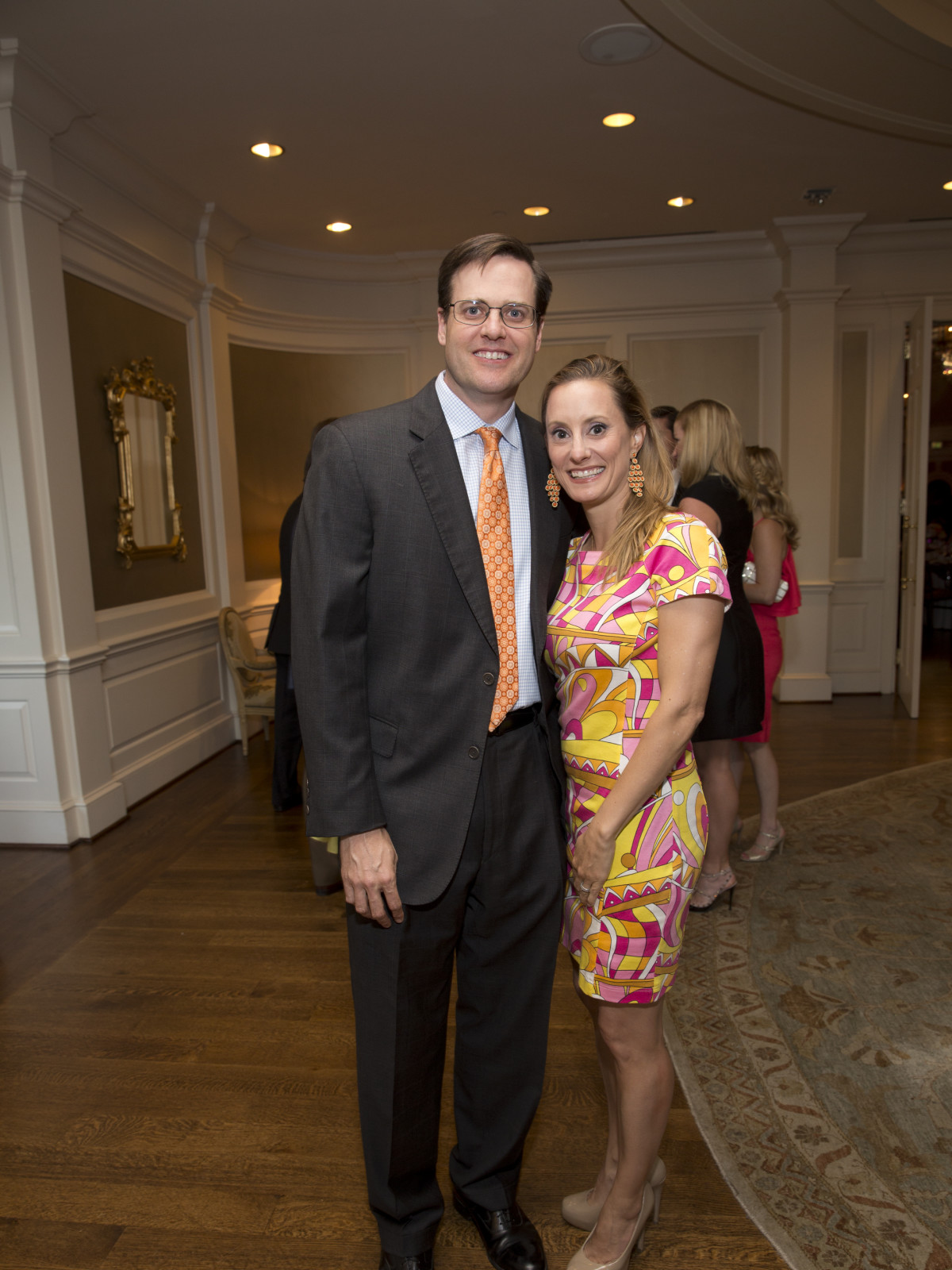 Spencer Stasney, Allison Stasney at Chinquapin Flashback Gala