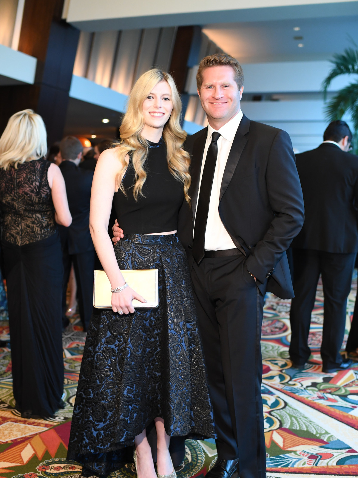 Kimberly Falgout, Evan Scheele at Memorial Hermann Gala