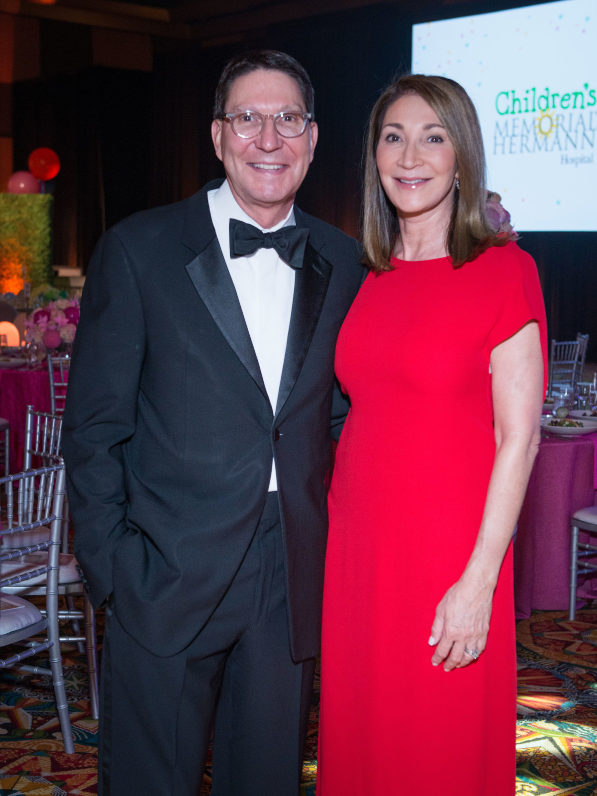 Scott and Soraya McClelland at Memorial Hermann Gala