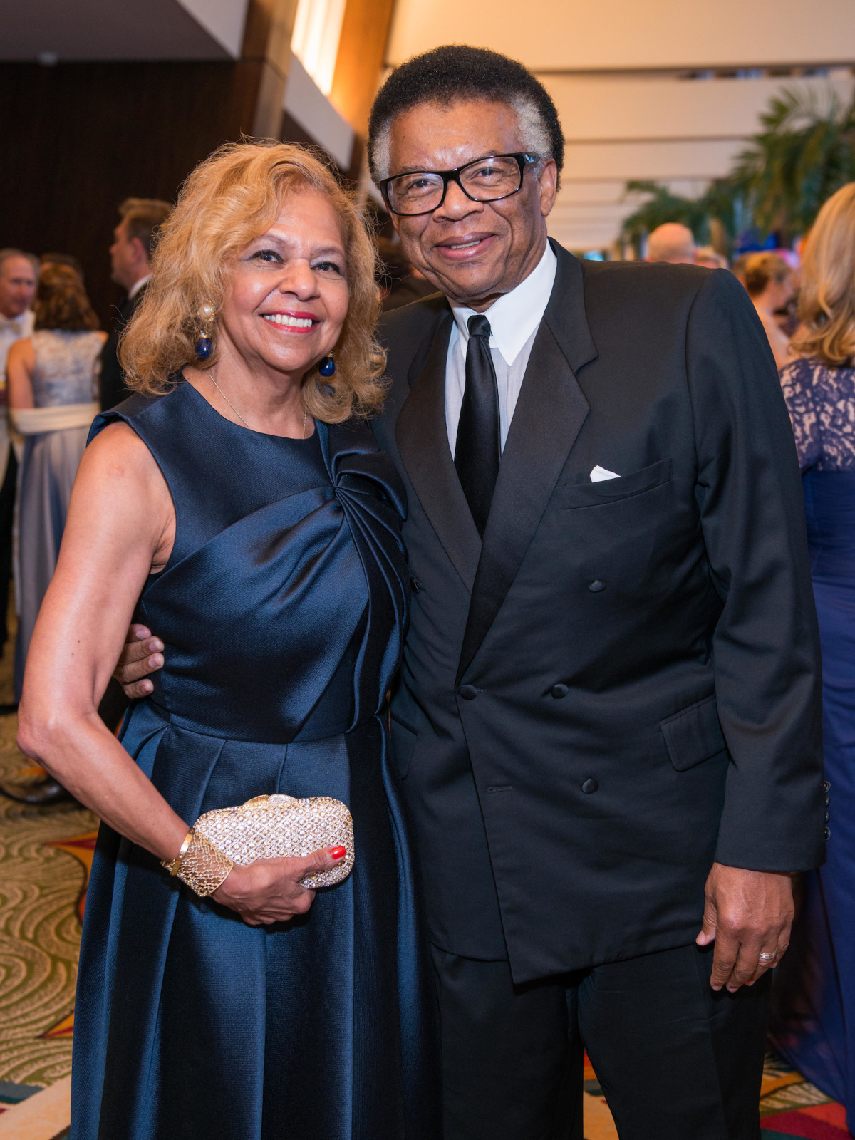 Yvonne and Rufus Cormier at Memorial Hermann Gala