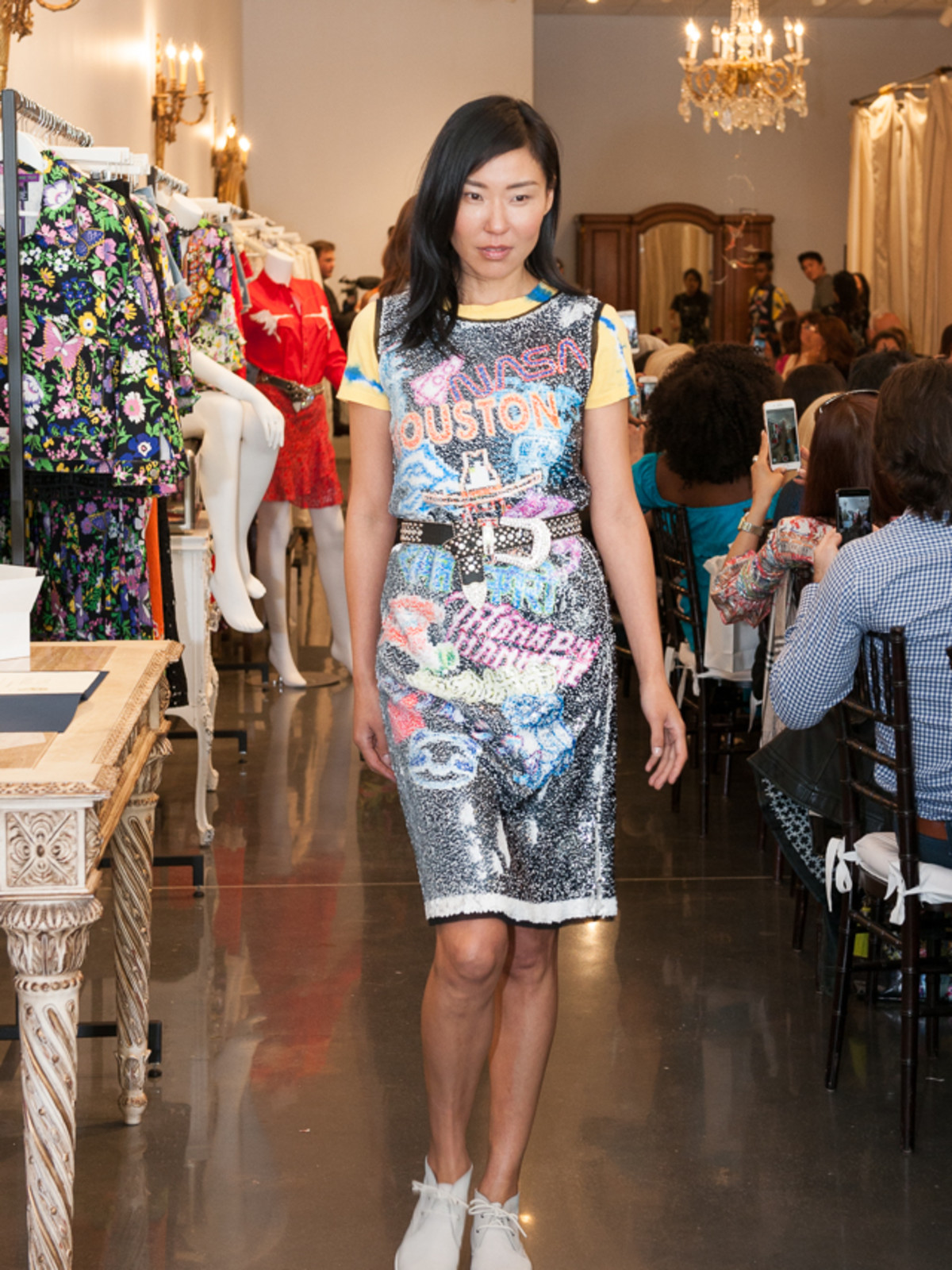 Vivienne Tam Houston collection dress