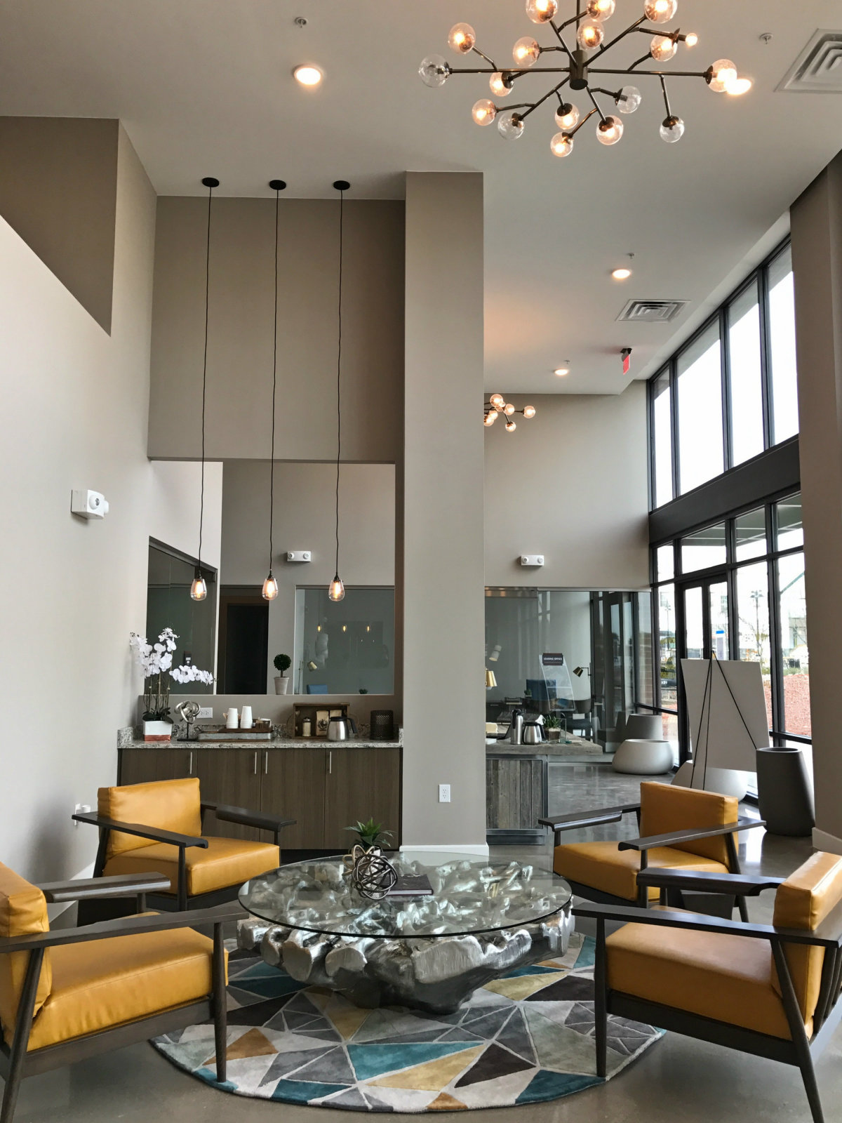 Harvest Lofts lobby