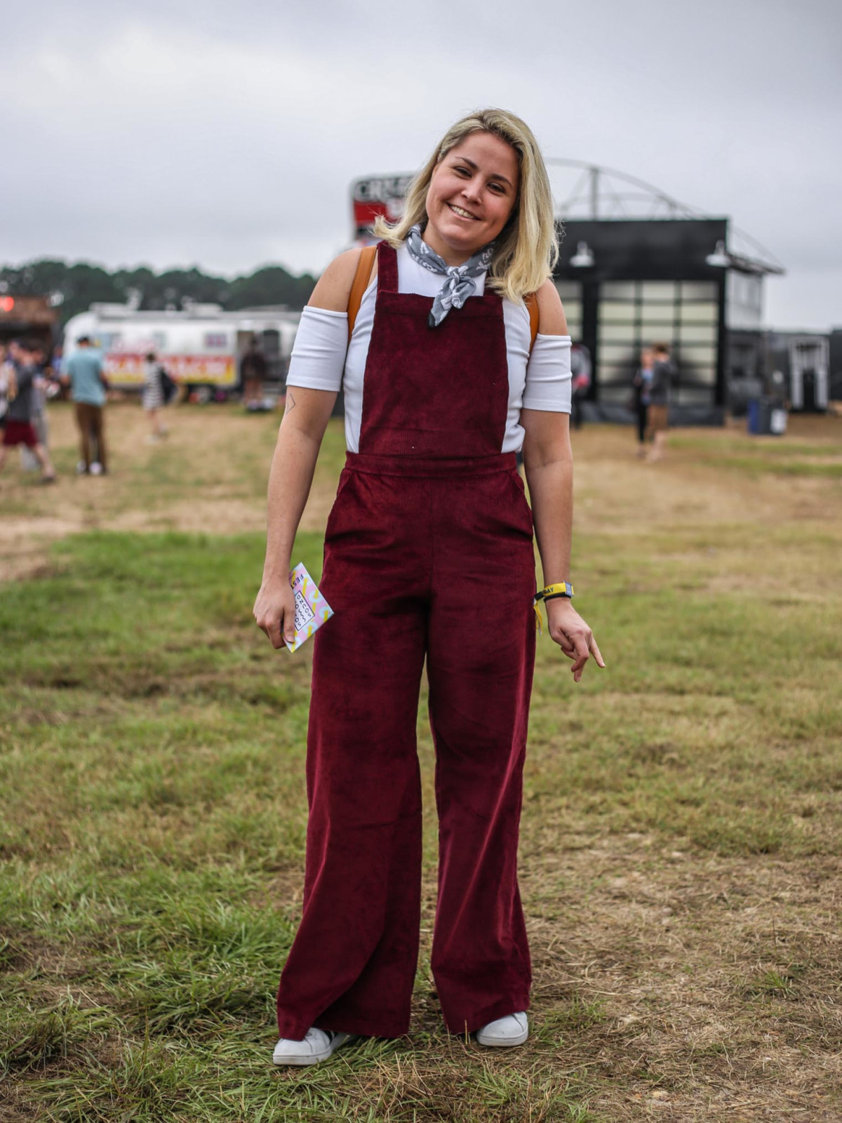 Sound on Sound Fest 2016 Street Style Lauren McCanse