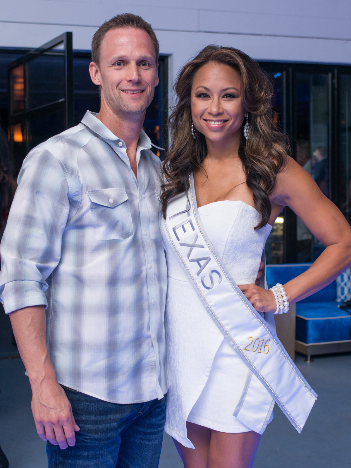 Havana Night, 7/16 Brandon Sisco, International Miss Texas Tien Davis