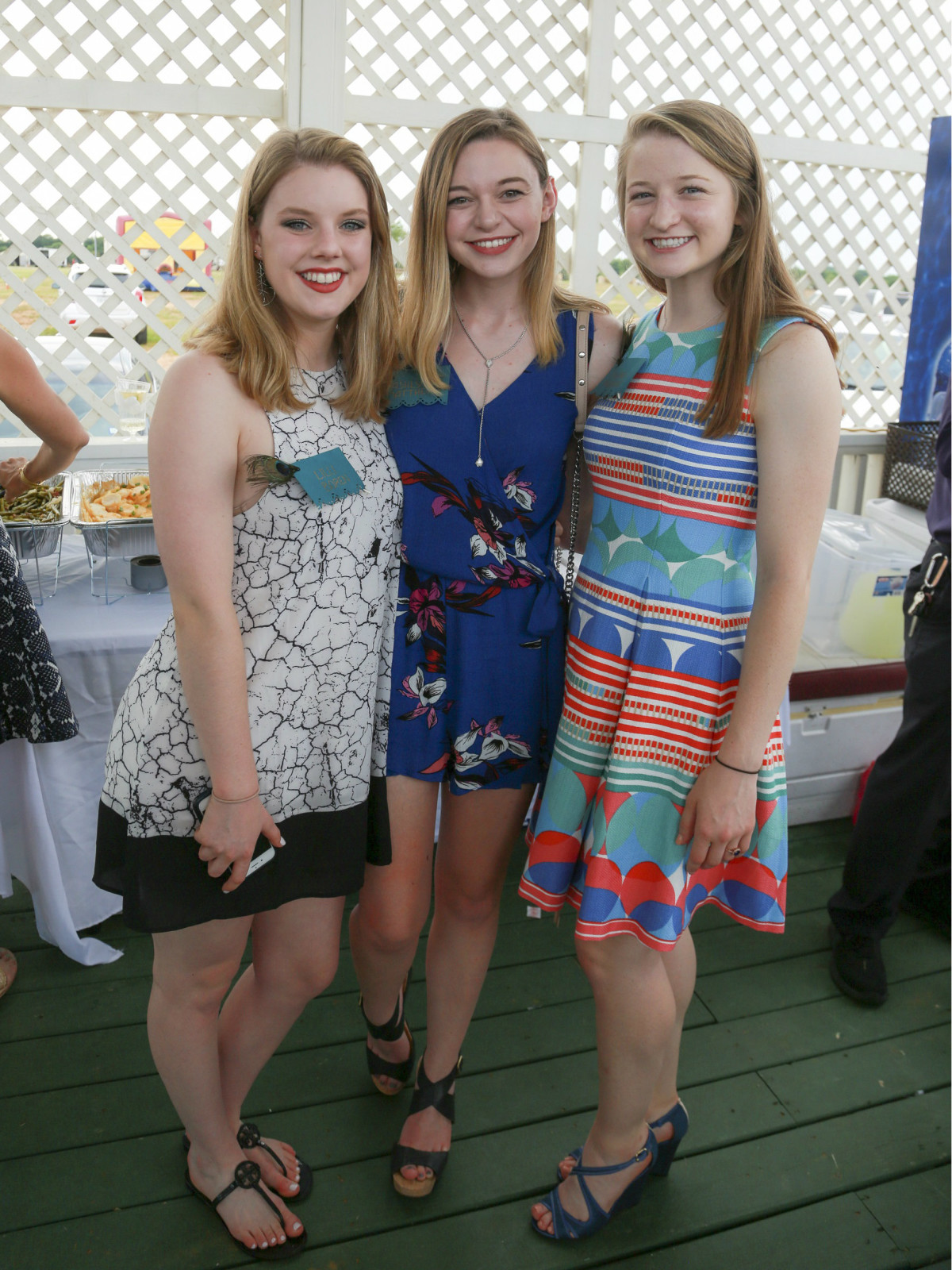 Lilli Boren, Ashlyn Matthews, and Juliana McIlveene