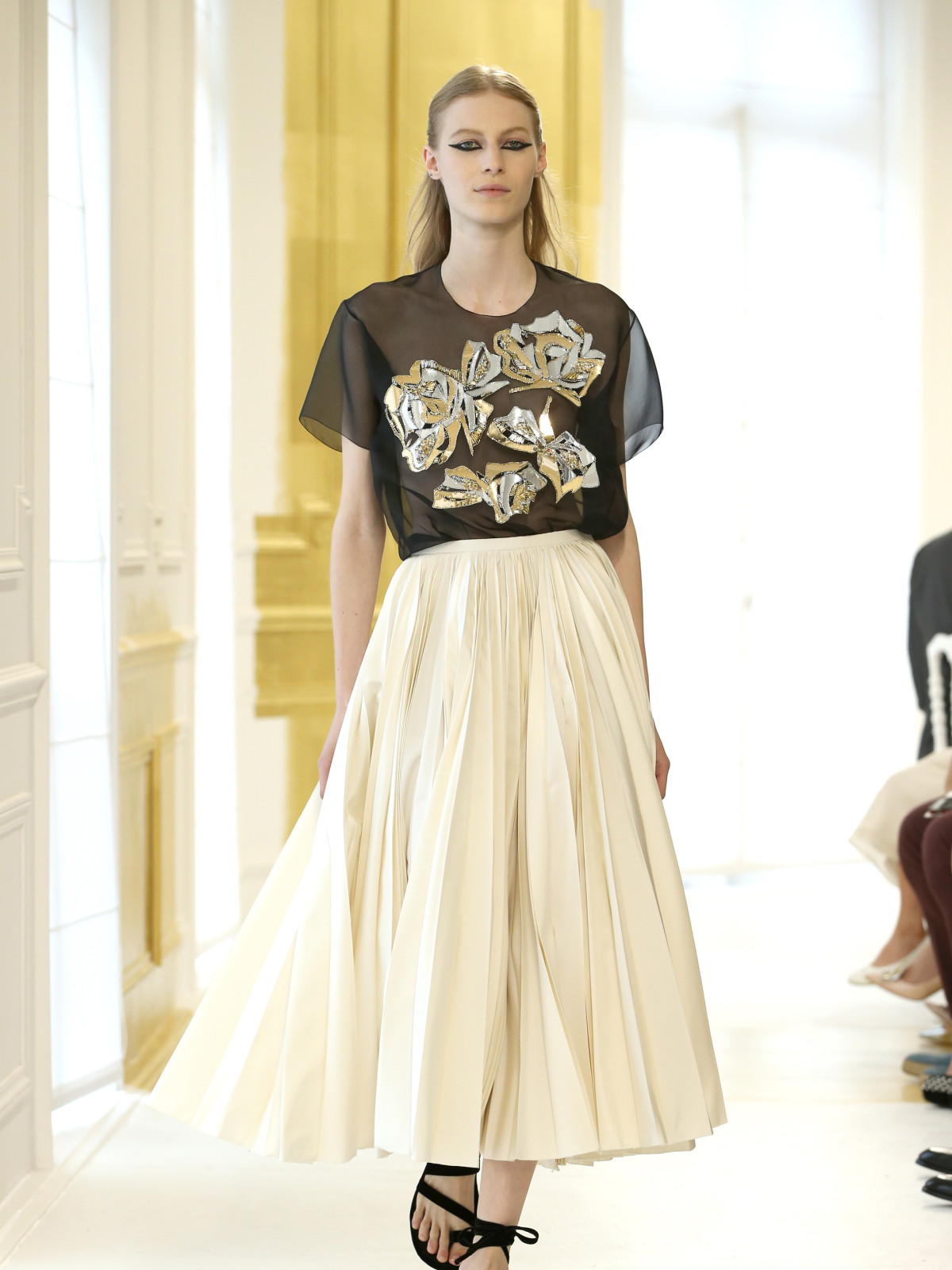 Dior haute couture runway show Paris finale look 45
