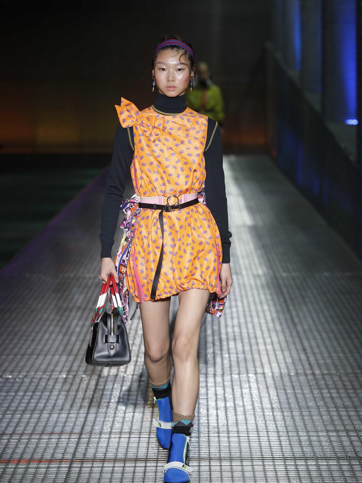 Prada menswear spring 2017 women's look