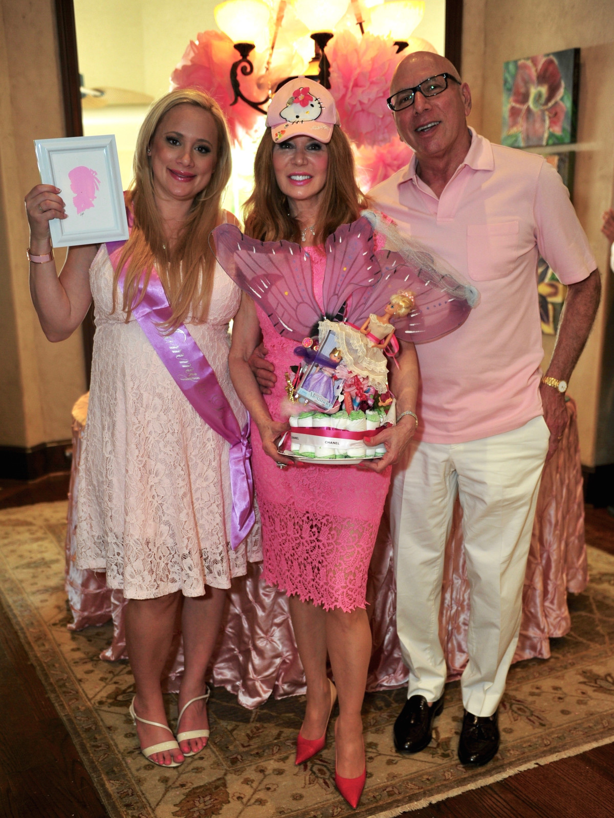 Erica Rose Baby Shower, June 2016, Erica Rose, Cindi Rose, Dr. Franklin Rose