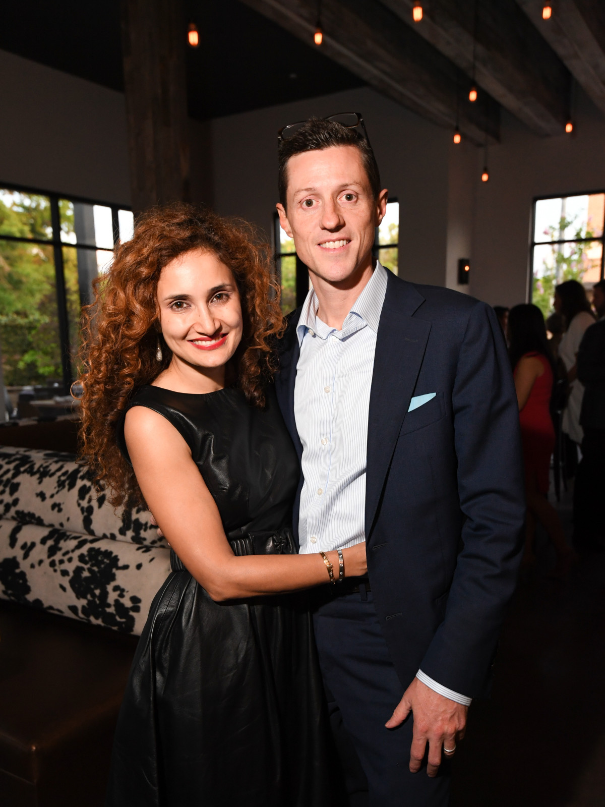 Fabretto Children's Foundation kickoff, may 2016, Sannam Warrender, Scott Warrender