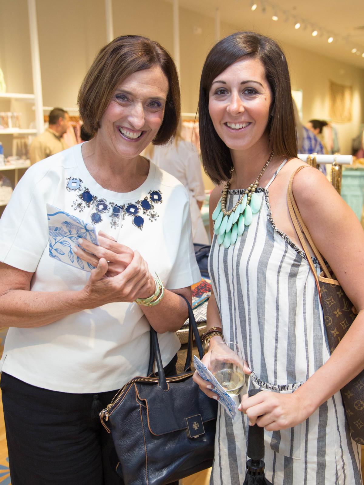 Roberta Roller Rabbit opening Nikki Castelli, Adina Castelli