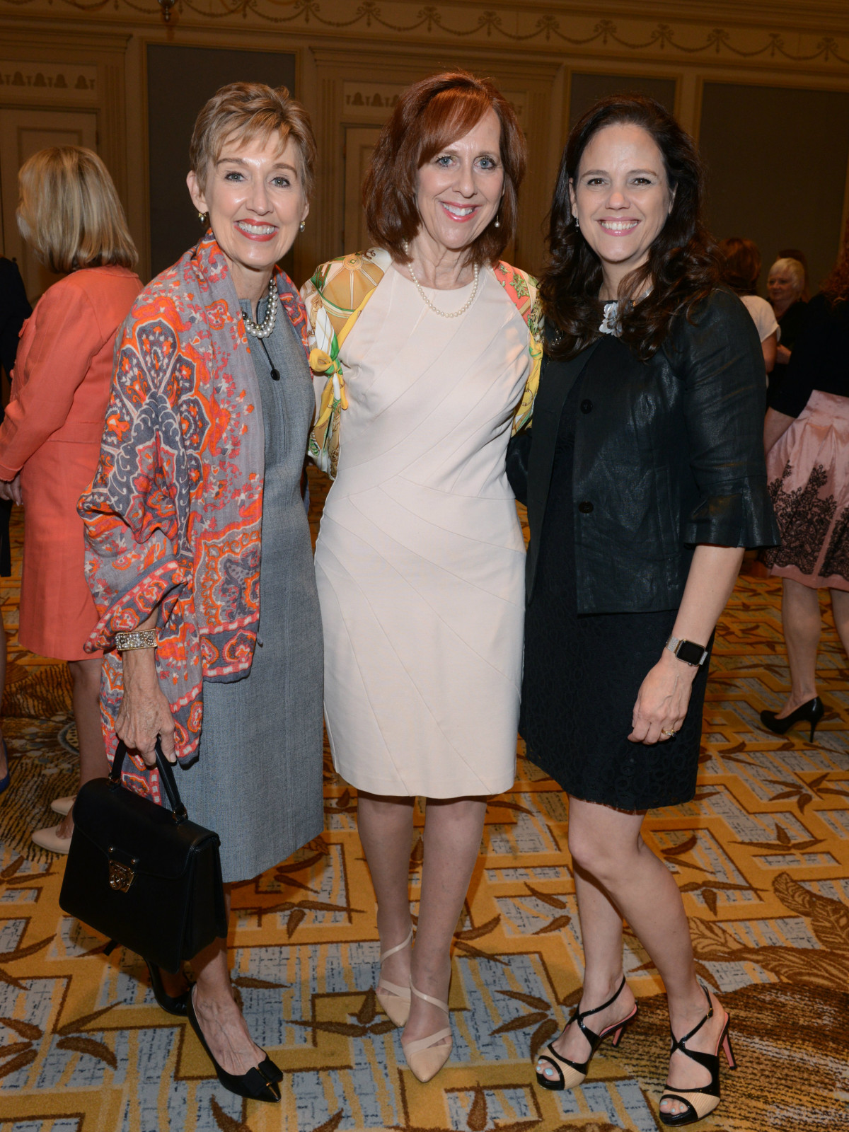 Suzy Gekiere, Susan Farris, Angie Kadesky