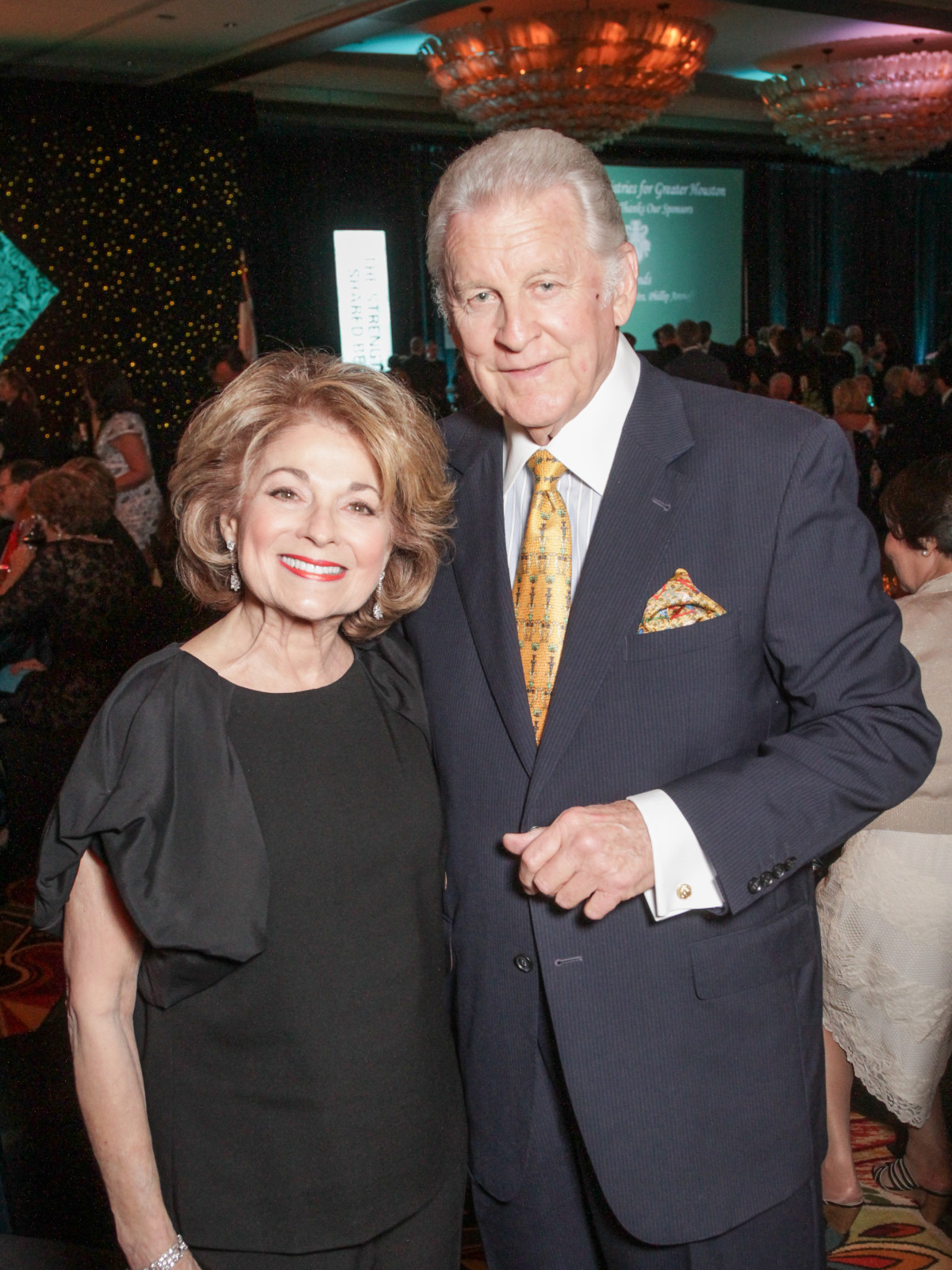 Tapestry gala, May 2016, Fredell Deutser, Robert Deutser