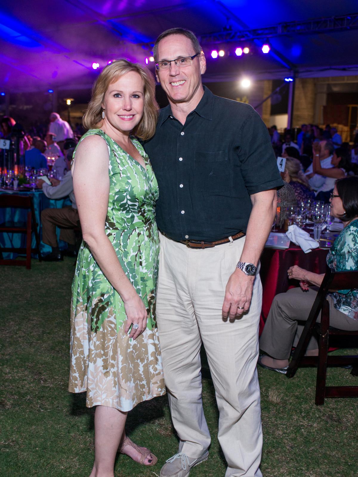 Catholic Charities Gala 5/16 Deana Blackburn, Larry Blackburn