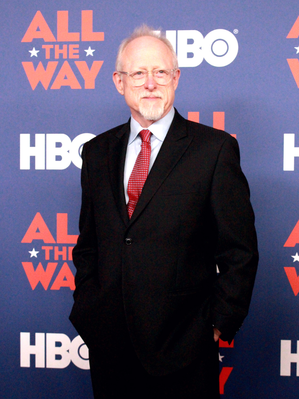 Austin premiere HBO film All the Way LBJ red carpet Robert Schenkkan