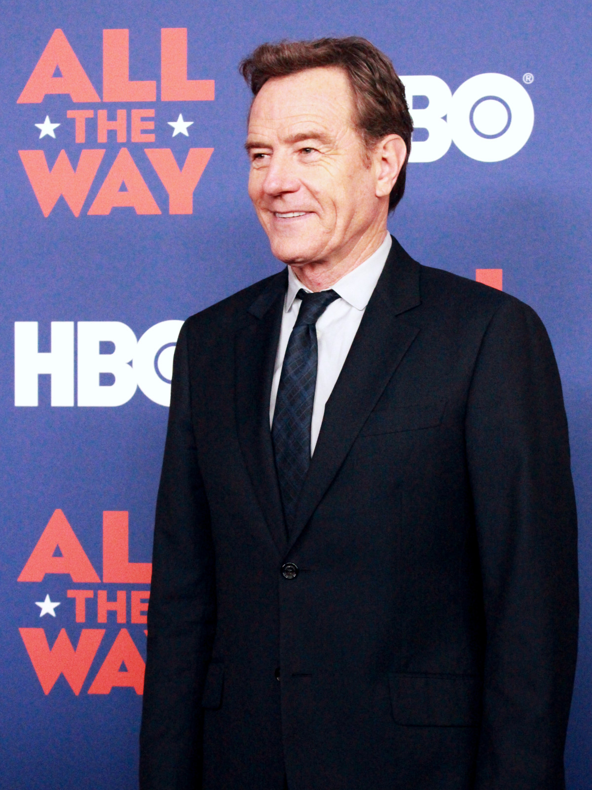 Austin premiere HBO film All the Way LBJ red carpet Bryan Cranston Lyndon B Johnson