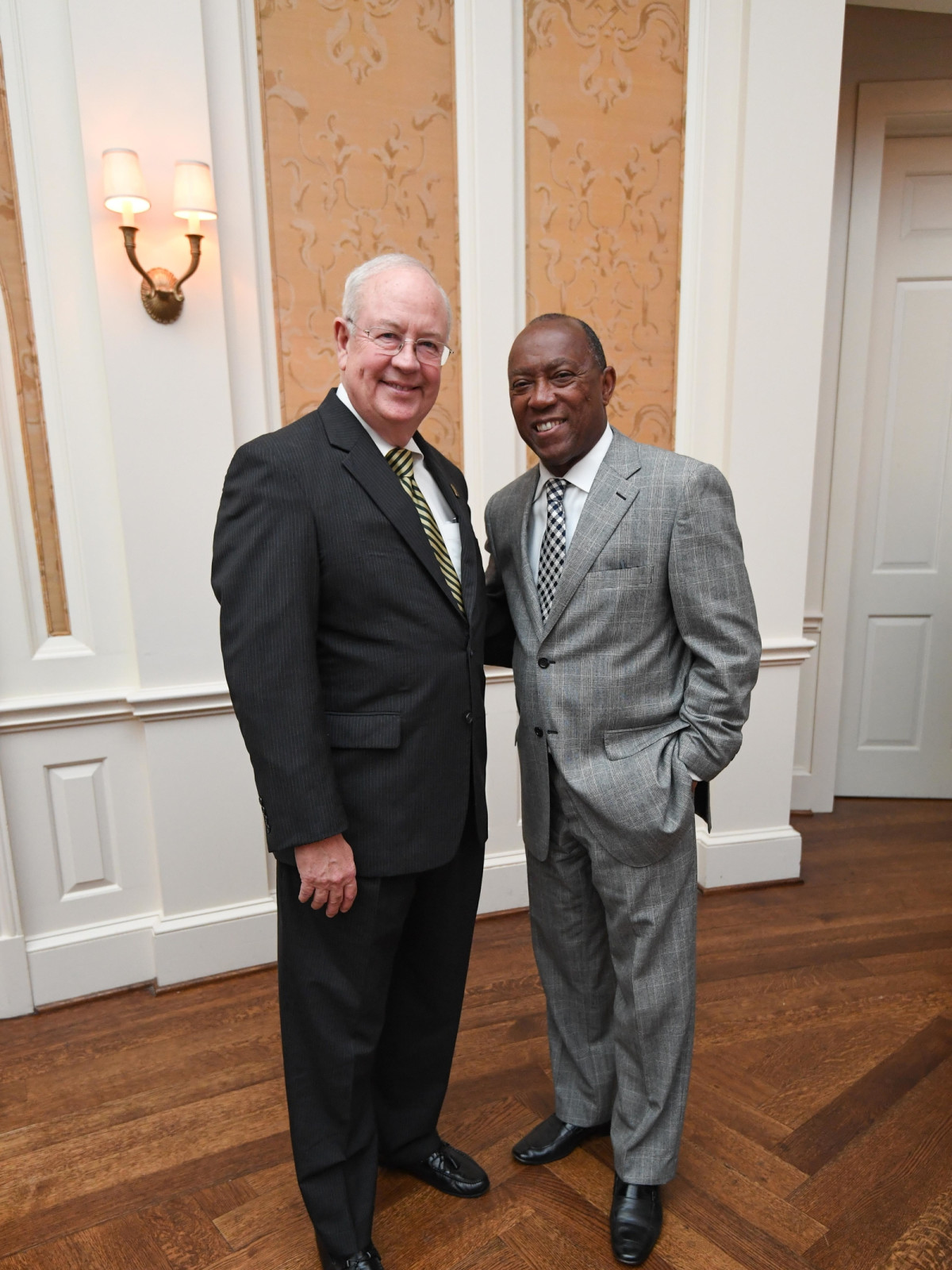 Chinquapin gala 5/16 Ken Starr, Mayor Sylvester Turner