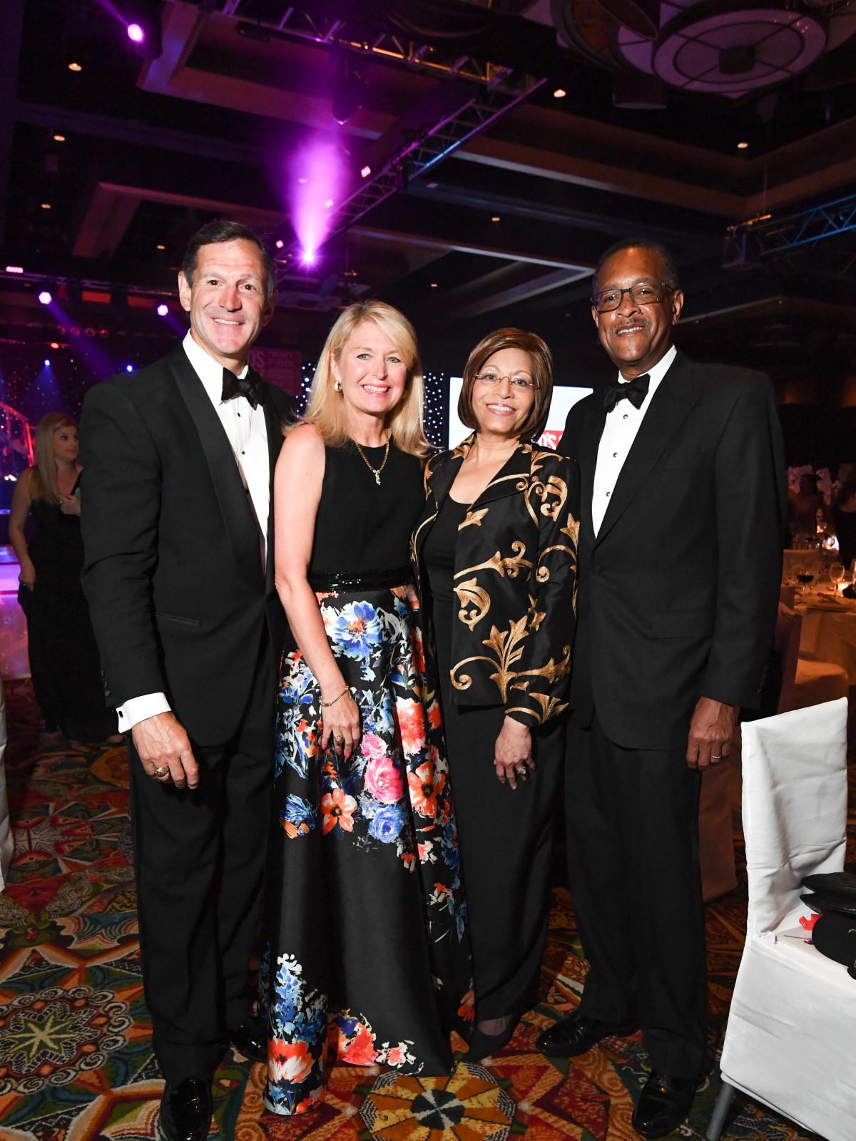 Memorial Hermann Gala 5/16 Bill Campbell, Diane Campbell, Barbara Easter, Bill Easter