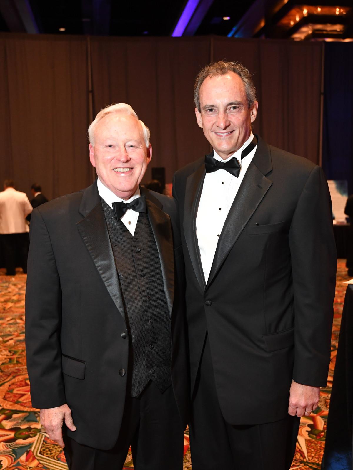 JDRF Gala, 5/2016  Fred Hagans, Bob Kruckemeyer