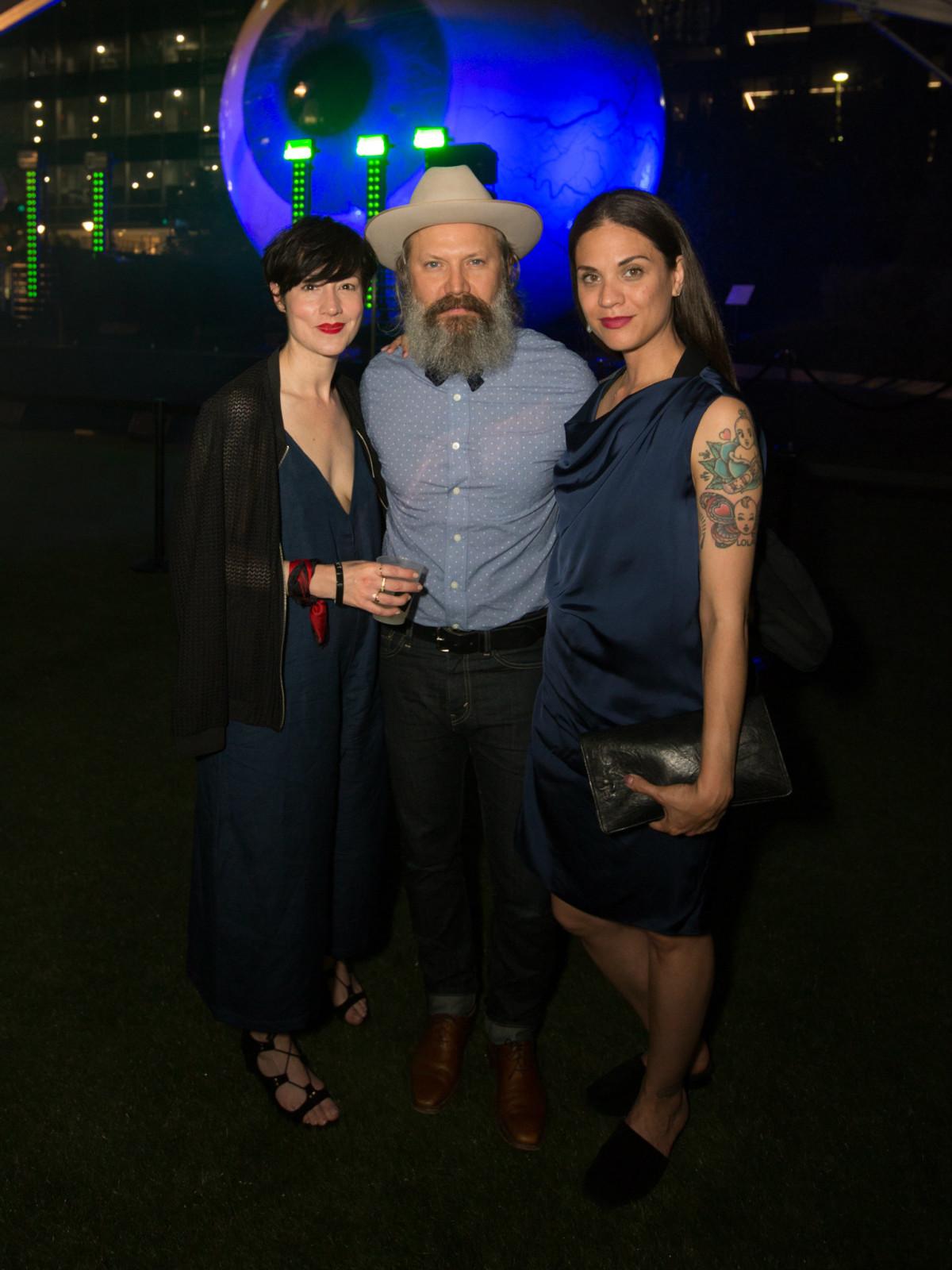 Christine Visneau, Steven Visneau, Jennifer Dunn