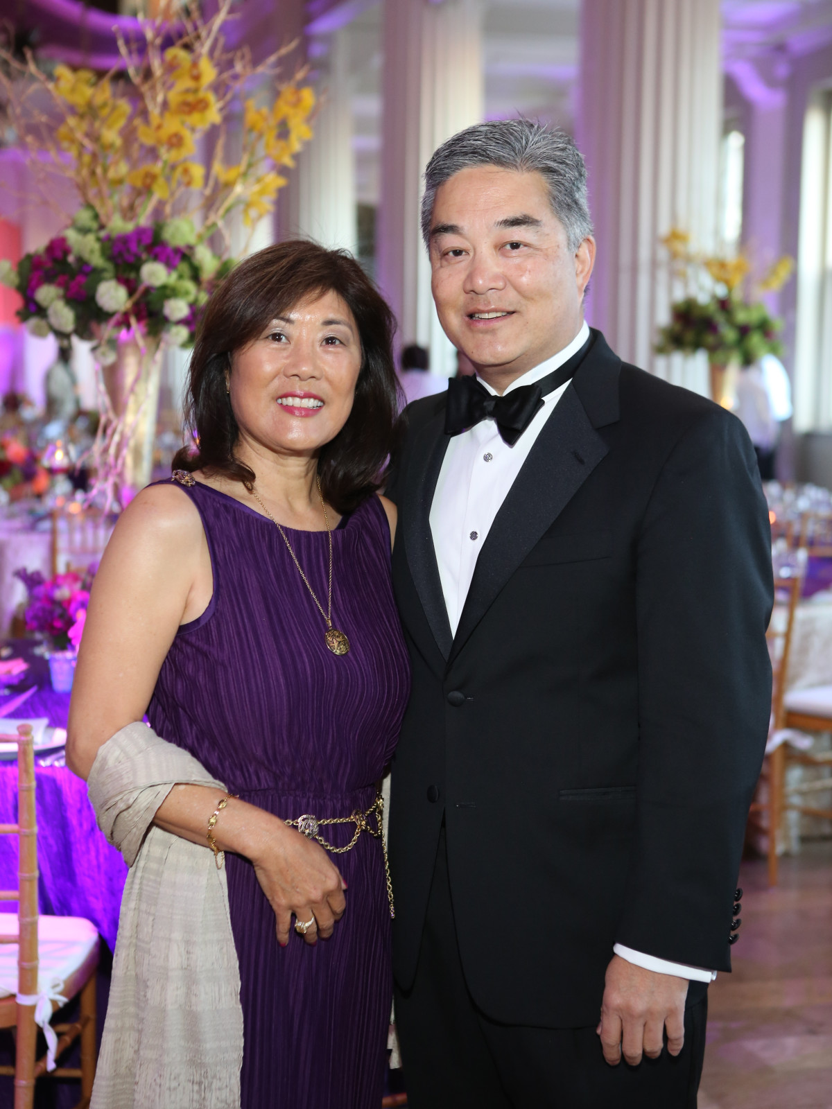 SPA Gala, April 2016, Linda Chiang, Willie Chiang