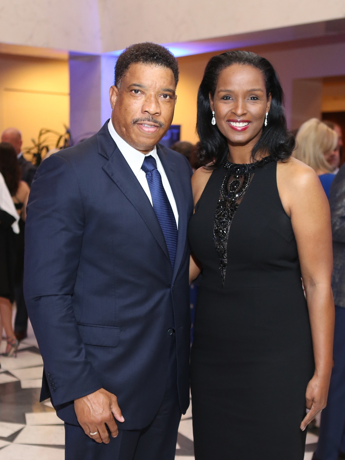 Blue Cure Gala, April 2016, Doug Herron, Winell Herron