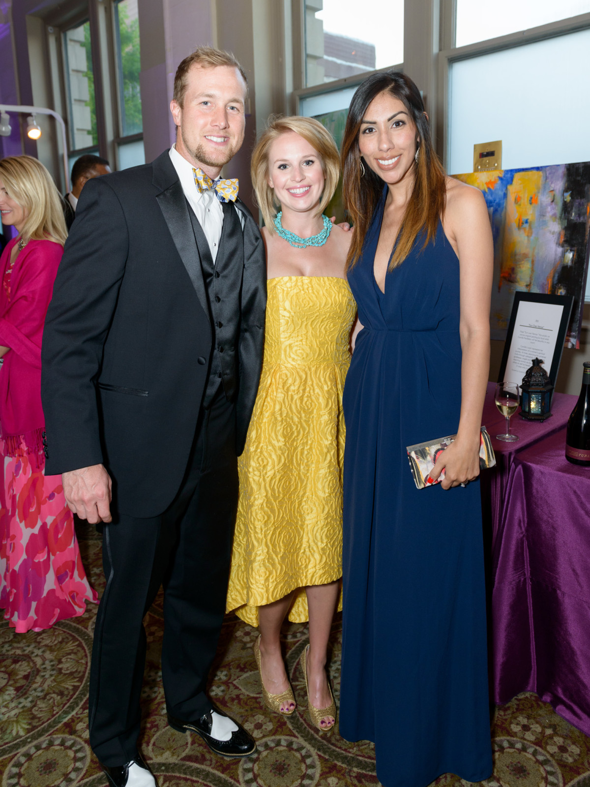 SPA, Gala April 2016, Cahal Mowery, Mallory Cheatham and Marcela Maxson