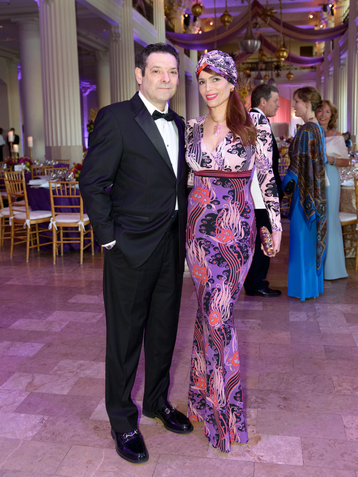 SPA, Gala April 2016, Carlos Barbieri, Karina Barbieri