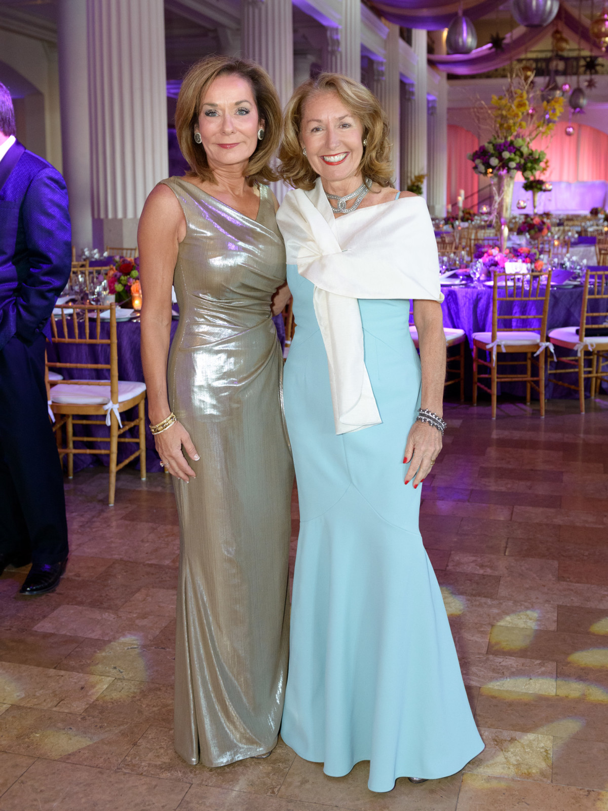 SPA, Gala April 2016, Melanie Gray, June Christensen