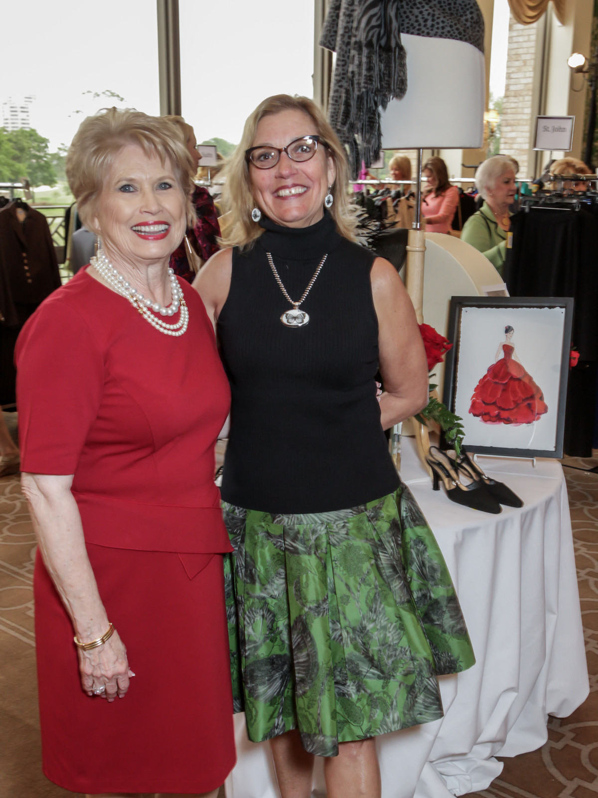 Salvation Army Reflections on Style, 4/16 Ginger Blanton, Stick Delaupe