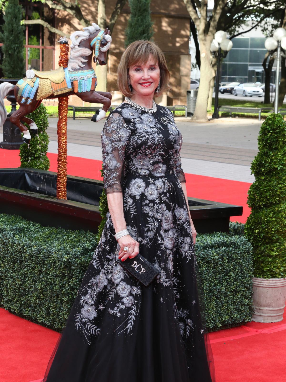Houston Grand Opera ball gowns, April 2014, Donna Josey Chapman
