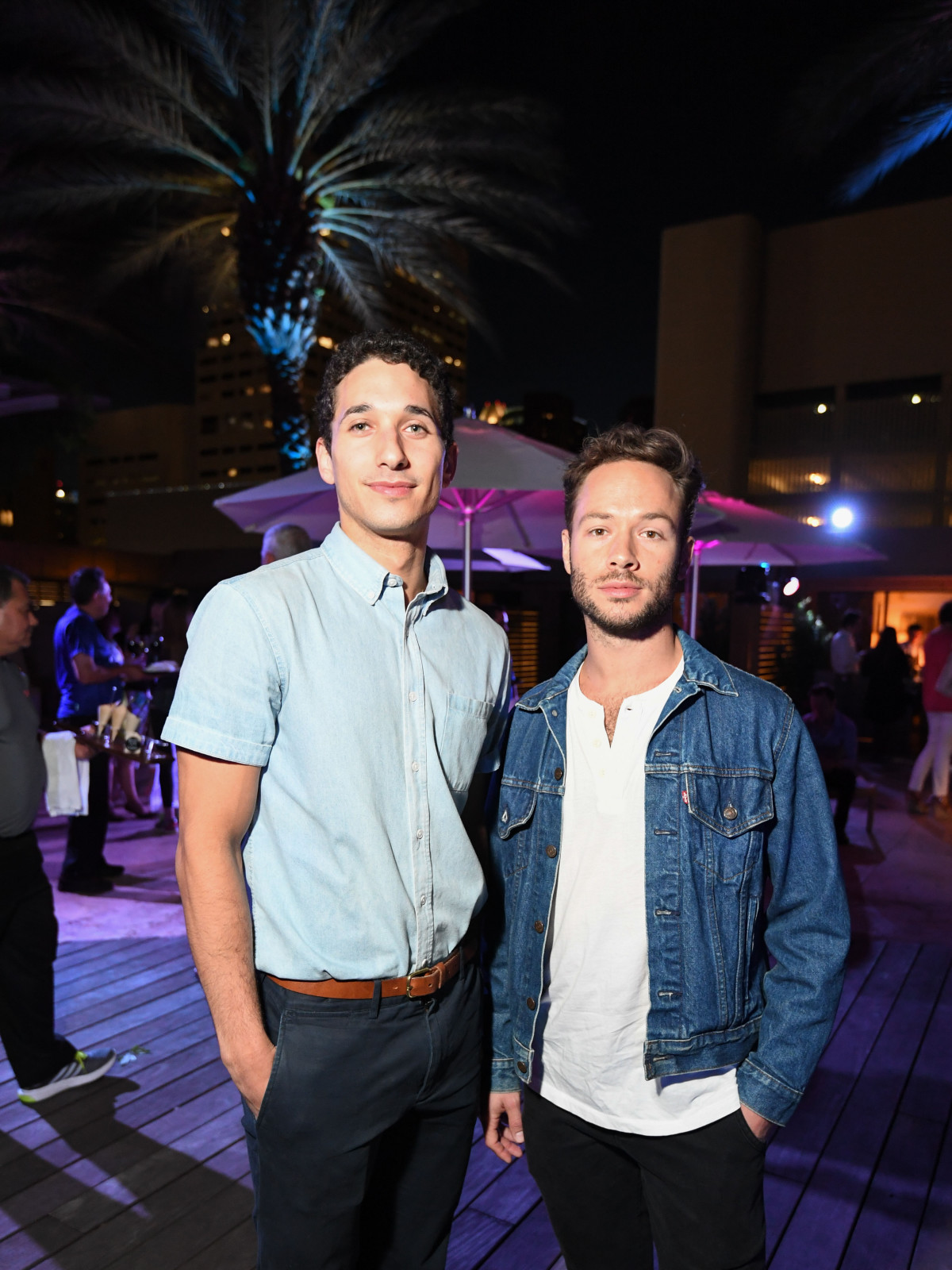 Four Seasons Spa Party, April 2016, Shahar Dori, Oliver Halkowich