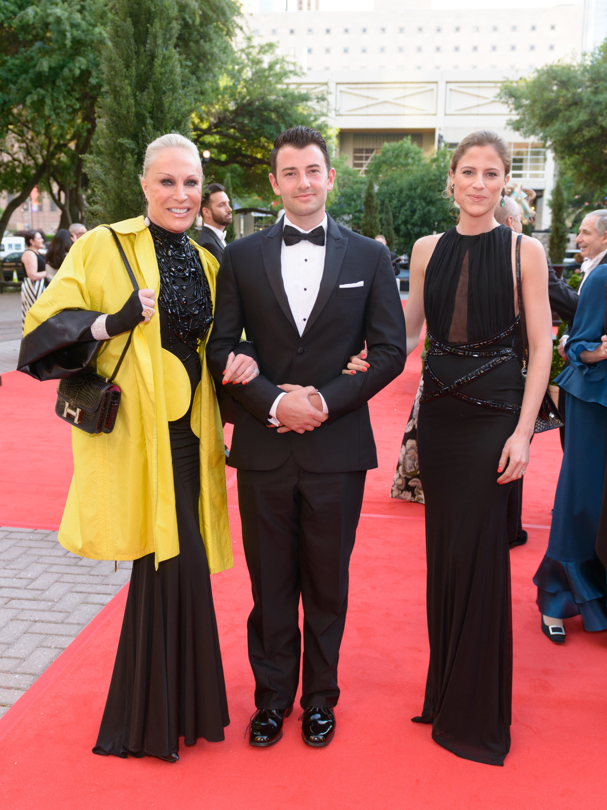 Houston Grand Opera Ball, April 2016, Suzanne Saperstein, Crayton Baer, Alexis Saperstein