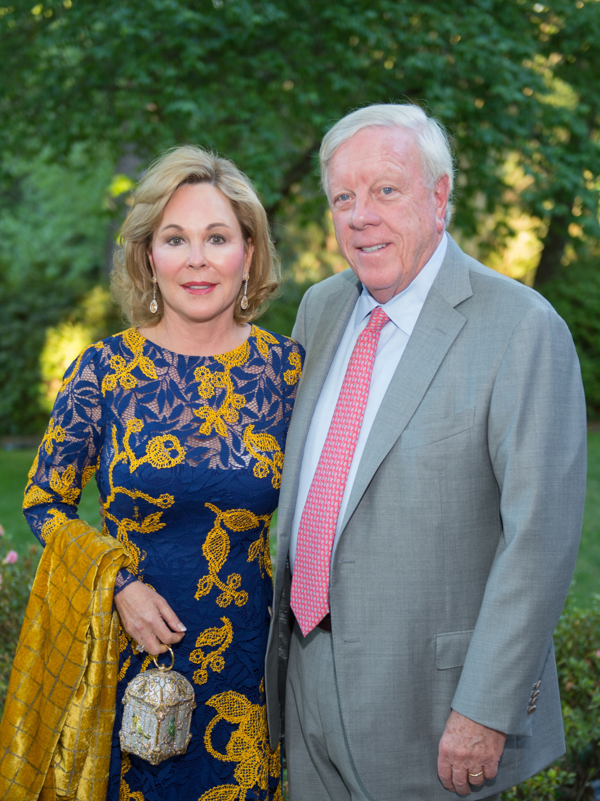 Bayou Bend Garden Party, April 2016, Nancy Kinder, Rich Kinder