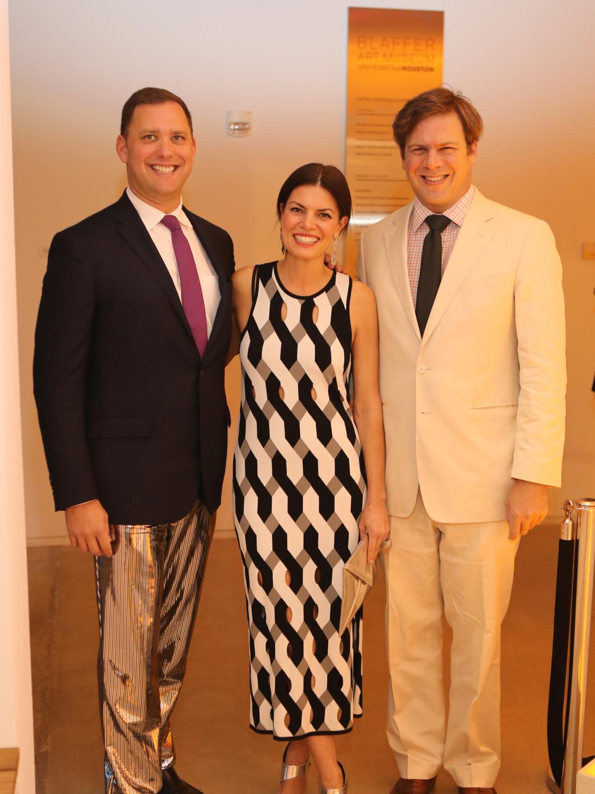 Blaffer Galleria Gala, April 2016, Ryan Gordon, Ashley Putnam, Steve Putnam
