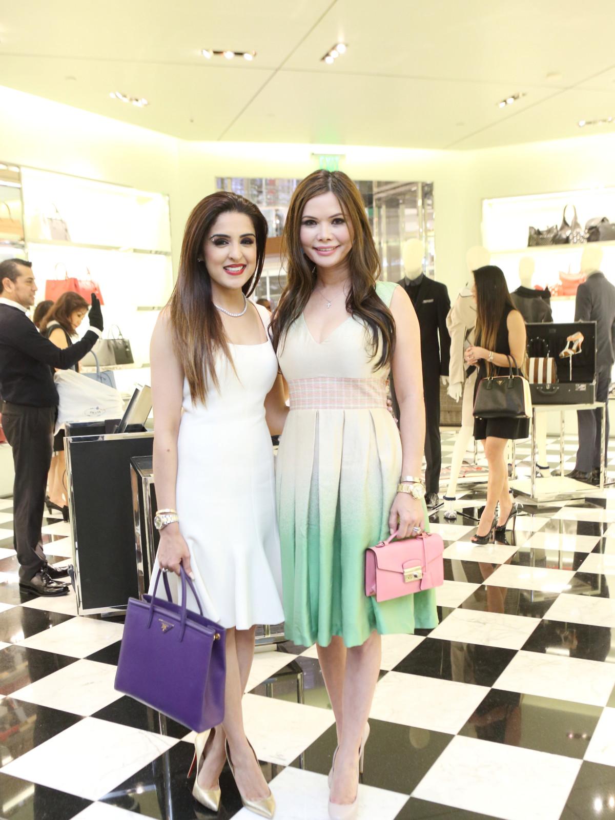 Sneha Merchant, Amy Dichoso at APAHA kickoff party at Prada