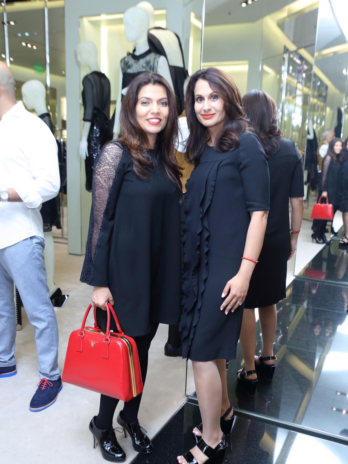 Mona Khan, Jyoti Kohli at APAHA kickoff party at Prada