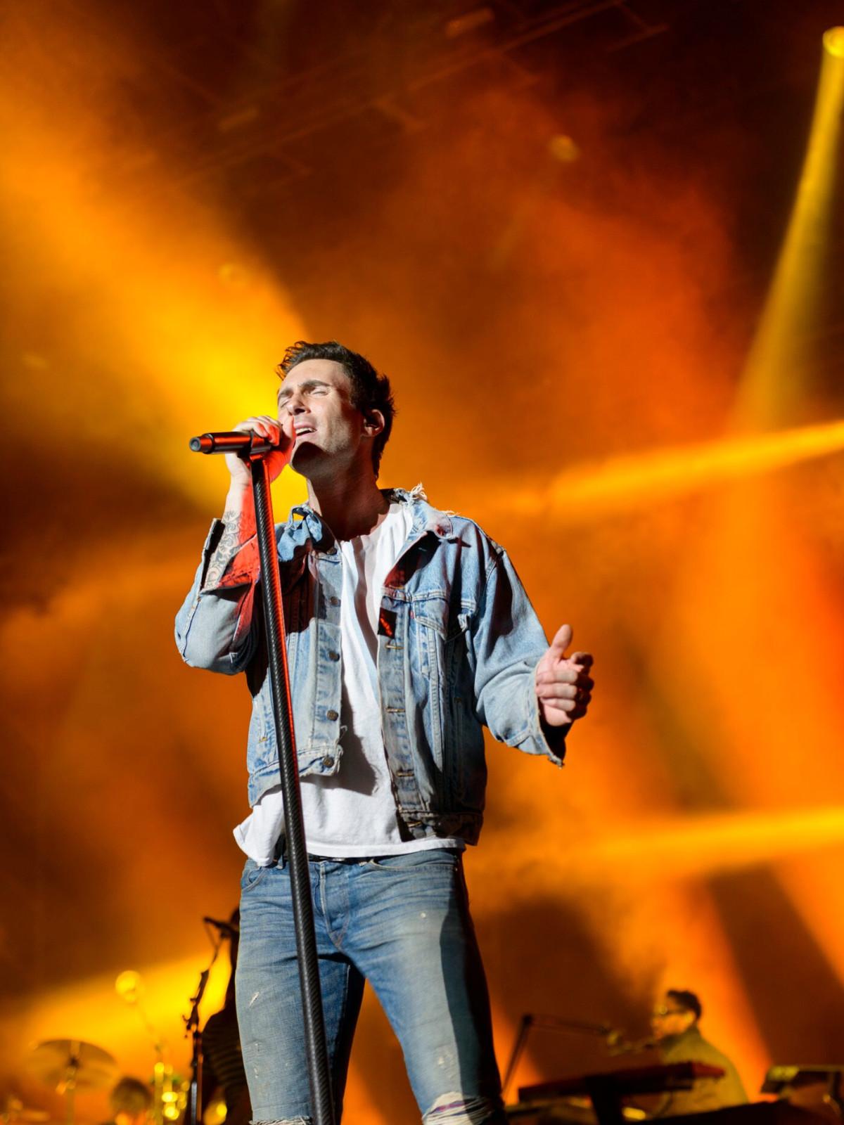 Maroon 5 March Madness Music Festival Adam Levine
