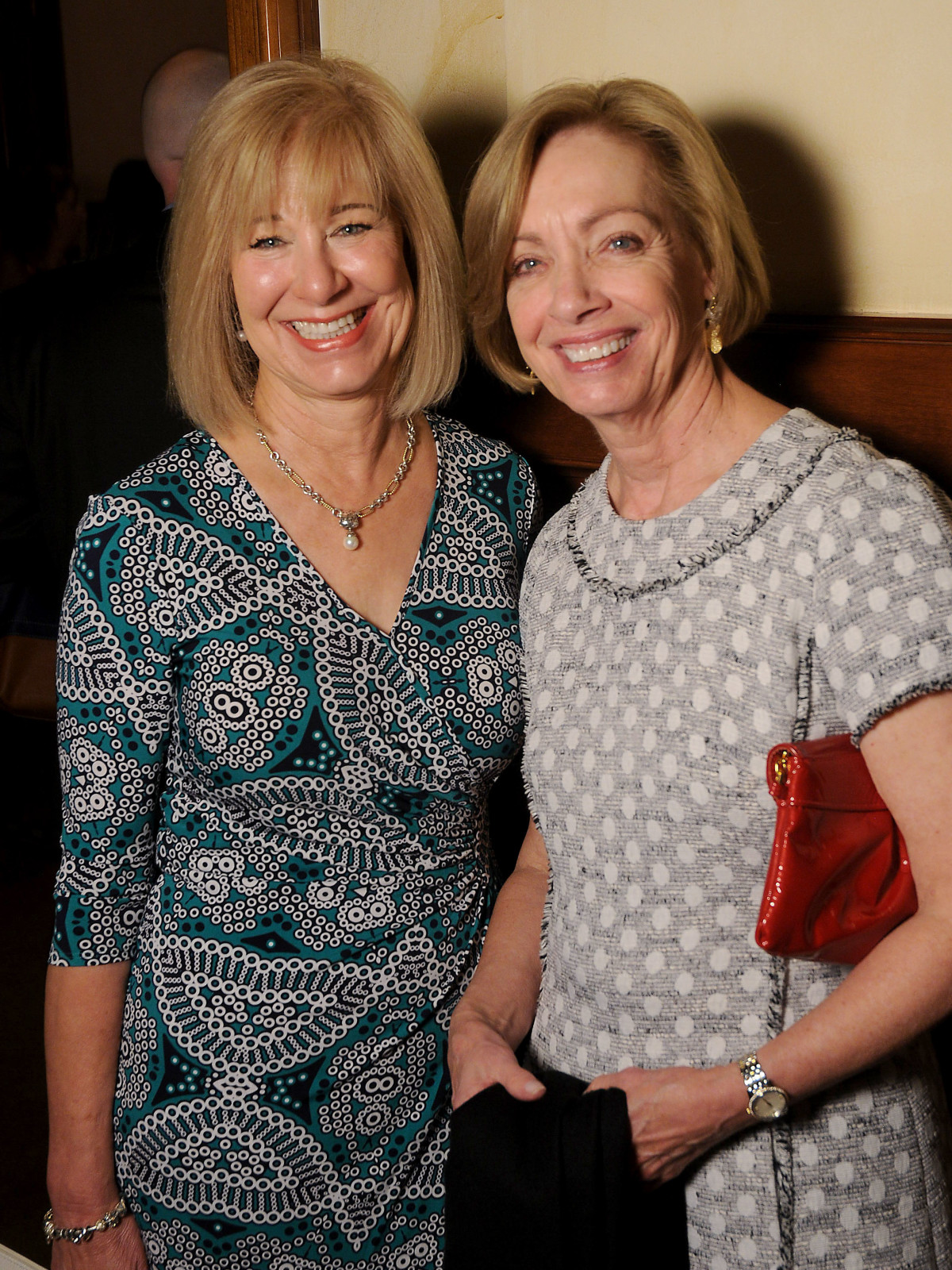 Hospice Butterfly Luncheon, March 2016, Terri McClain and Doris Looper
