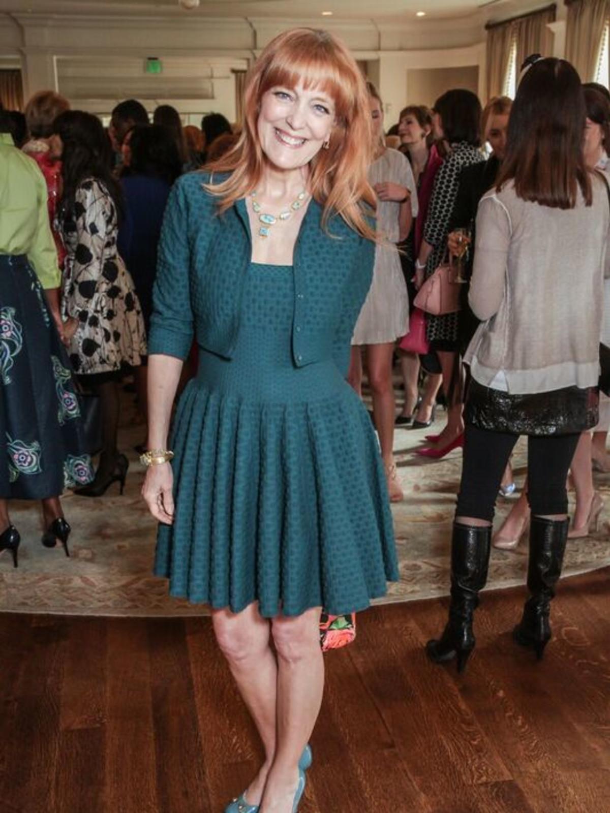 Gracie Cavnar Passion for Fashion luncheon