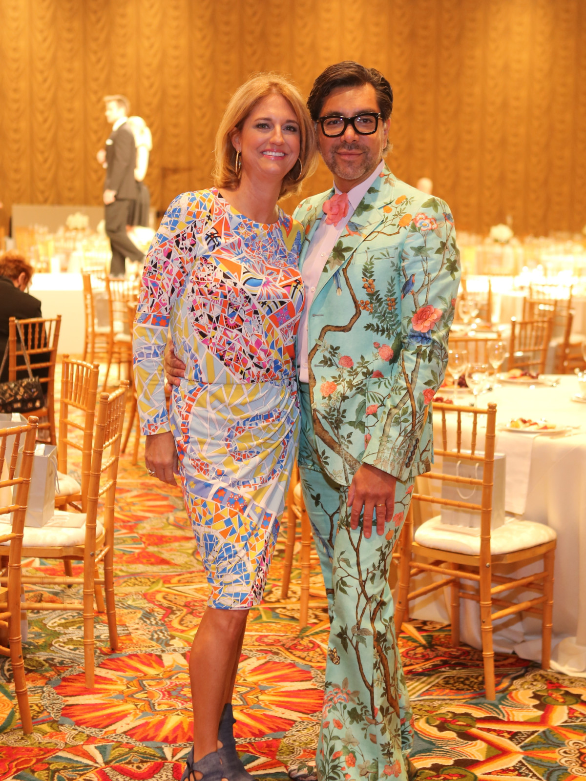 Best Dressed luncheon, March 2016, Liz Zaruba in Pucci, Ceron in Gucci