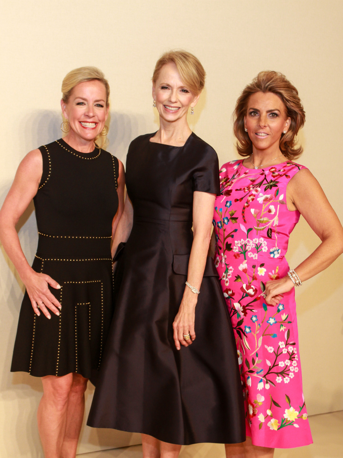Best Dressed Luncheon, March 2016, Rosemary Schatzman, Susan Sarofim, Mary Tere Perusquia