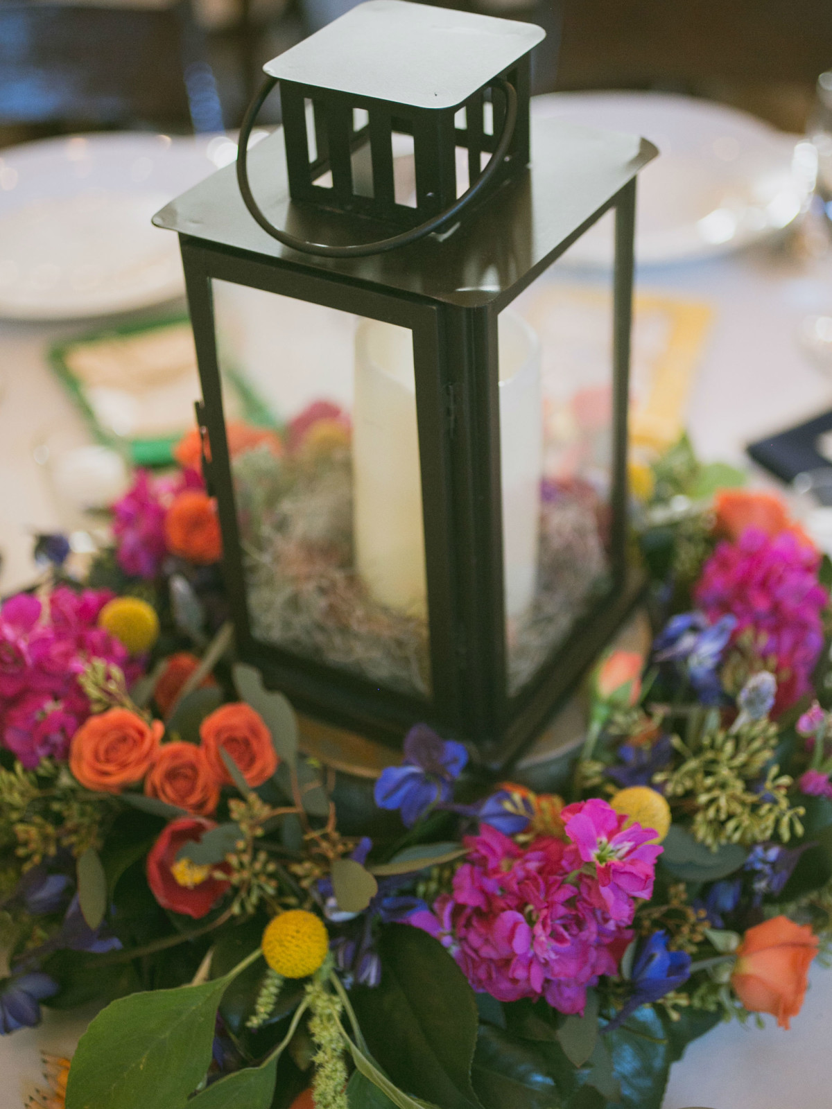 Heritage House wedding centerpieces