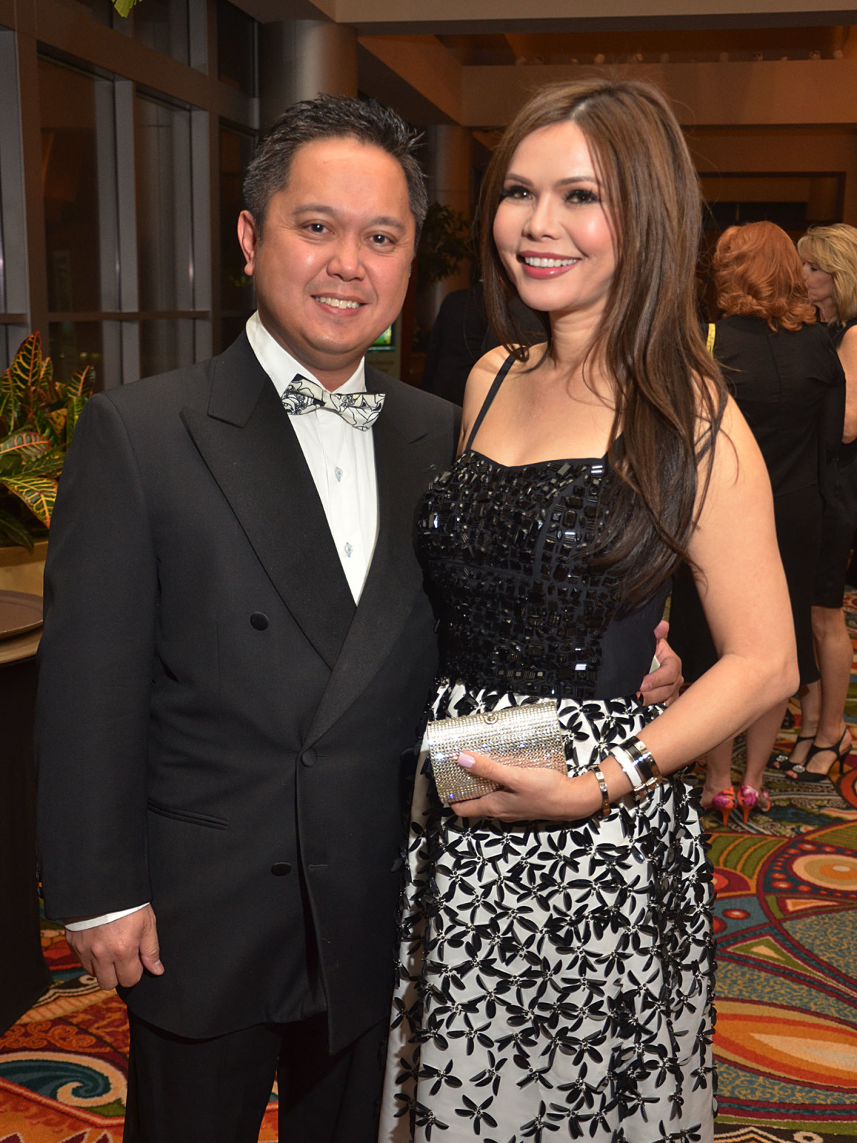 Texas Heart Institute dinner, Feb. 2016,Dr. Daryl Dichoso, Amy Dichoso