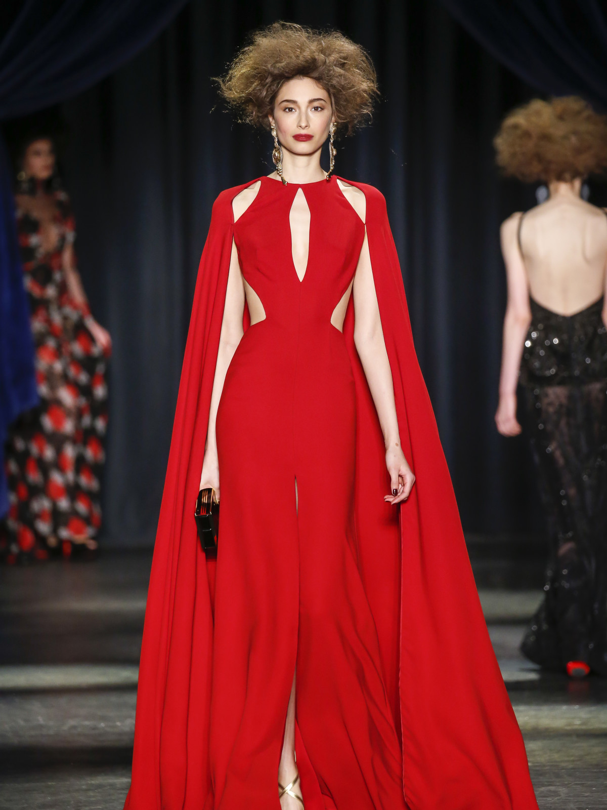 Naeem Khan fall 2016 collection Look 33