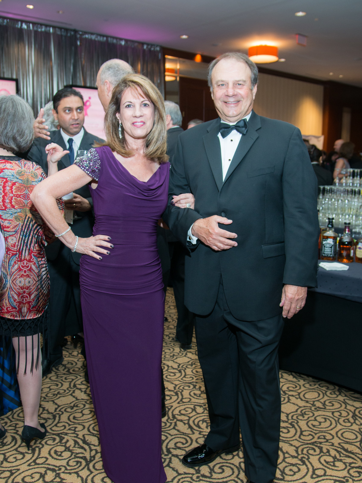 Komen Foundation 25th Gala, Feb. 2016, Jane Parker, Ed Parker