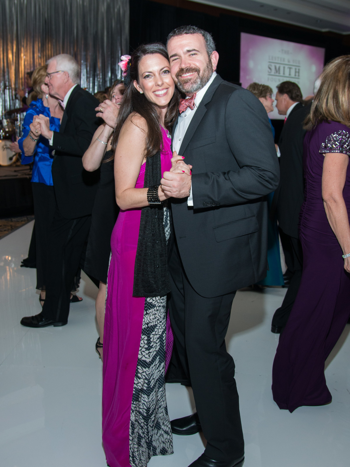 Komen Foundation 25th Gala, Feb. 2016,  Dr. Michelle Ludwig, John Goodrich